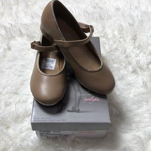 Girls Character Shoes Tap Size 11